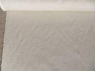 John Lewis Furnishing Fabric Peyto Rib, Sold By The Metre, Putty Colour NEW • 9.50£
