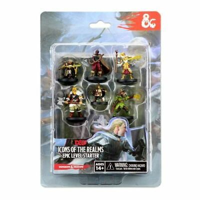 AU46.25 • Buy D&D Icons Of The Realms: Epic Level Starter - Brand New & Sealed