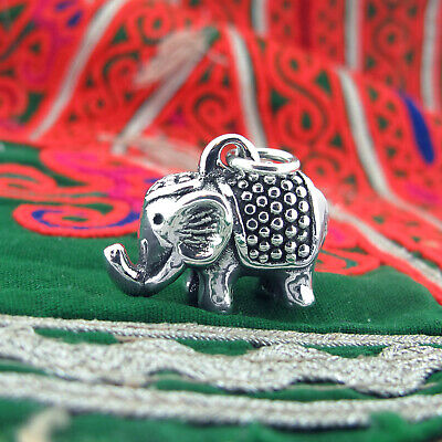 £14.60 • Buy Royal Indian Elephant Pendant For Necklace, Sterling Silver 925