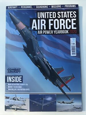 $11.99 • Buy United States Air Force Air Power Yearbook 2020 Combat Aircraft Magazine