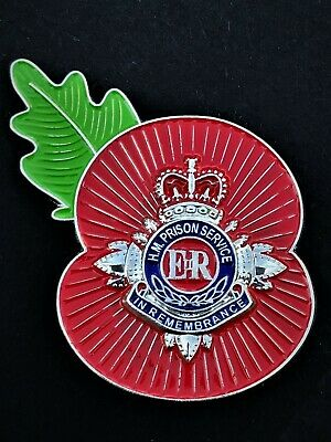 HMP Prison Service Bathstar Flower Of Remembrance • 9£