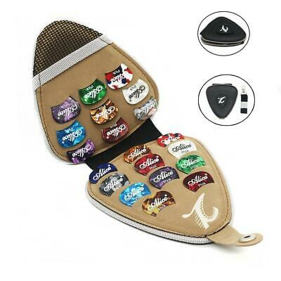 $ CDN24.90 • Buy Guitar Pick Holder Portable PU Guitar Plectrums Case Bag With 20pcs Mixed Thick