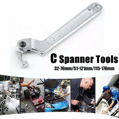 AU45.99 • Buy Universal Shock Adjustment Adjuster C Spanner Wrench Tool Adjustable Wrench New