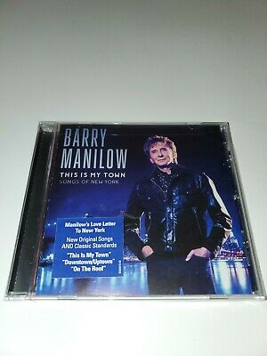 New Sealed Cd Barry Manilow This Is My Town: Songs Of New York • 7.15£