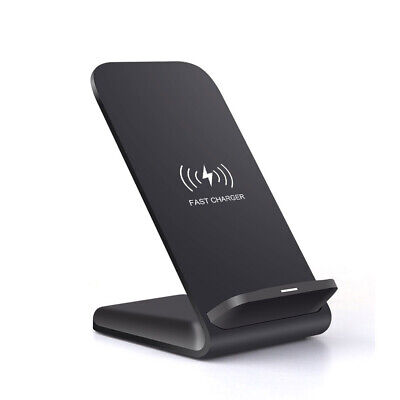 AU17.95 • Buy AU Qi Fast Wireless Charger Charging Dock Stand For IPhone 12 Pro Max 11 XS XR 8