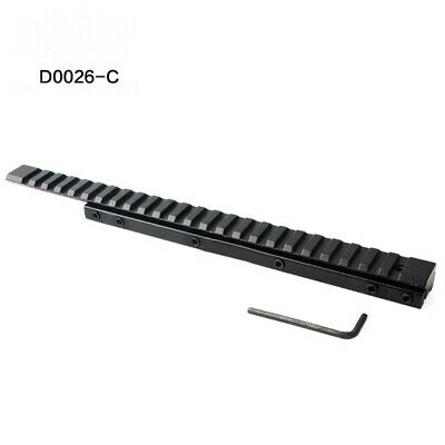 £15.99 • Buy Extend Scope Mount 11mm To 20mm Dovetail Rail Weaver Picatinny Rail Adapter Base