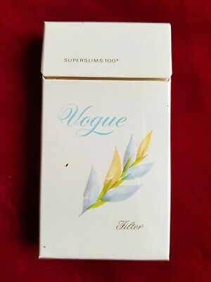 $ CDN5.85 • Buy Vogue Slim Pacchetto Sigarette Vuoto For Collection Empty Cigarettes Package