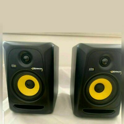 KRK Rokit 5 G3 Referance Monitors PAIR + Stands - Cash On Collection  • 230£