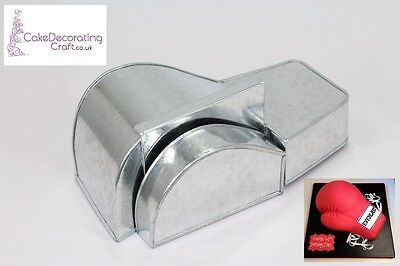 3D Novelty Cake Baking Tins And Pans | Boxing Gloves Cake Shape  • 12.34£