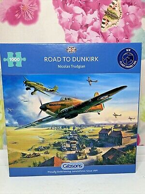 Gibson (G6299) Road To Dunkirk 1000 Piece Jigsaw Puzzle • 9.99£