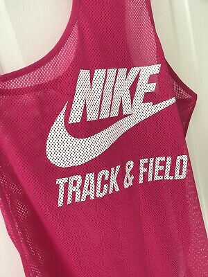 Nike Track And Field Pink Top Size M • 6£