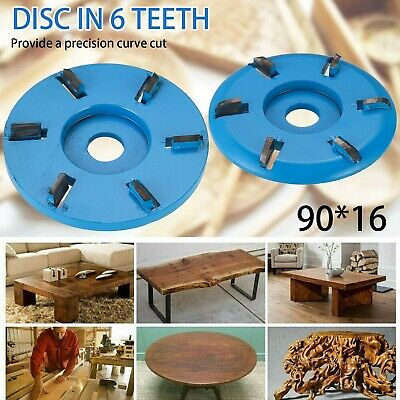 £7.99 • Buy Woodworking Blade For Electric Angle Grinder Disc Wood Carving Cutting Shaping