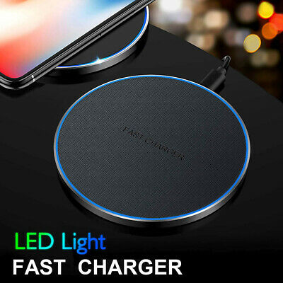 $ CDN14.79 • Buy 30W Qi Wireless Charger Fast Charging Pad Mat For IPhone 12 12Pro 11 11Pro XS 8