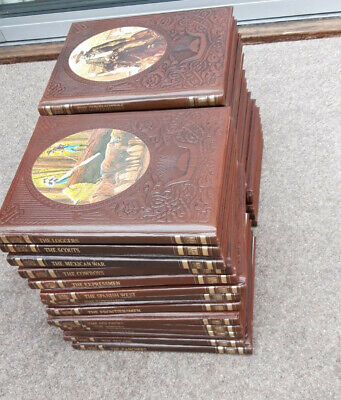 Complete Set Of 26 Volumes Of Time Life Books Of The Old West. Excellent. • 30£