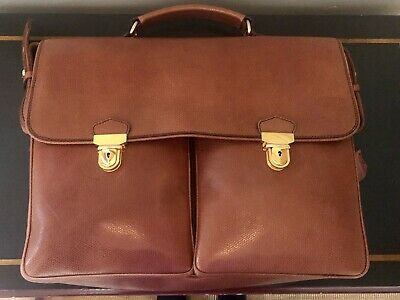 Tan Leather Womens Laptop Bag AN ORIGINAL DESIGN -Made In Italy • 31£