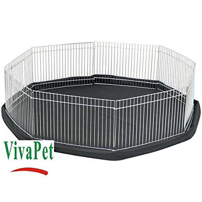 Play Pen Cage Small Pets Rabbit/Kitten/Puppy/Hamster/Guinea Pig Indoor Safe • 25.02£