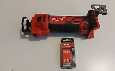 Milwaukee M18 Cordless Cut Out Tool 2627-20 + Roto Zip Drywall Bits 16-Pack 1/8 • 127£