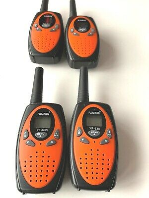 4 X Befove Walkie Talkies, Rechargeable 22 Channel Two Way Radios Long Range  • 24.89£
