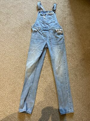 Girls Next Jean Dungarees Age 10years • 1.40£