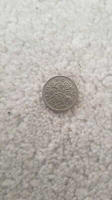 1962 Sixpence English Pre Decimal Coin Elizabeth Ii • 0.99£