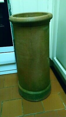 Large Clay Terracotta Chimney Pot / Planter Staffordshire Derby Very Good Cond • 34.99£