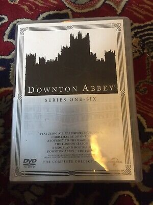 Downton Abbey Series 1 To 6 Complete Collection Region 2 DVD • 13.50£