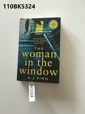 AU16 • Buy The Woman In The Window By A.J. Finn  Paperback LOT110 110BK5324