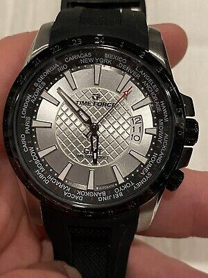 Time Force Watch Traveler GMT Automatic 24 Jewels NH35 Movement • 67.54£