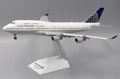 AU313.94 • Buy Jc Wings Jc2204a 1/200 United Boeing 747-400 Friendship Flaps Down With Stand
