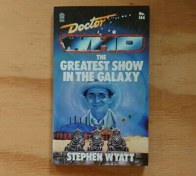 Doctor Who The Greatest Show In The Galaxy Target Paperback Novel  Stephen Wyatt • 5.95£
