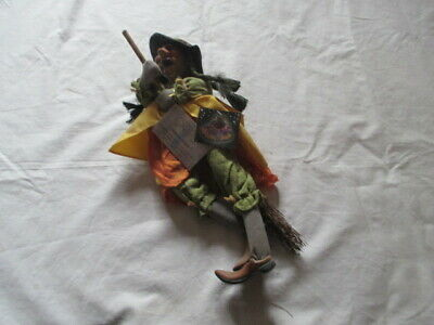 Kasma Witches Of Pendle  Tamar  Green 40cm Wp027c • 30£