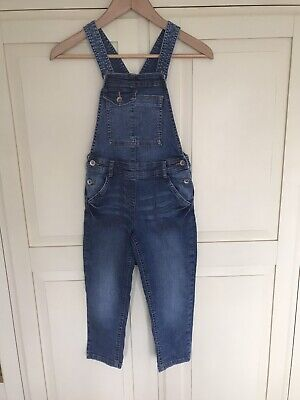Girls Dungarees - Next Aged 8 Years • 1.20£