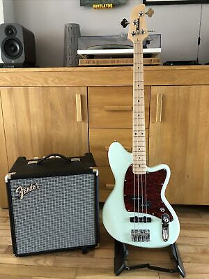 Ltd Ibanez Talman Bass TMB 100m 1p-01 + Fender Rumble 25 Bass Amp +  Gig Bag • 200£