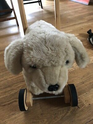 Mulholland And Bailie CHILDS WALKER PUSH ALONG SIT ON DOG TOY LABRADOR LOVELY  • 55£