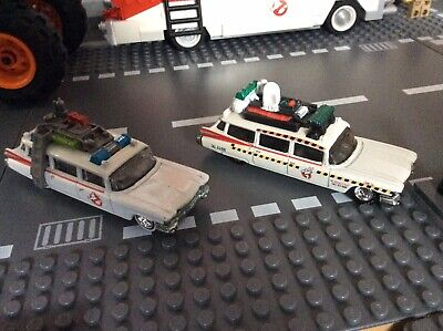 Hot Wheels Ghostbusters 2 Pack Ecto 1 And Ecto 1A • 18£