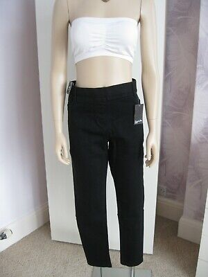 NWT Ladies Size 18R Black Skinny Jeggings From SimplyBe Amber • 6£