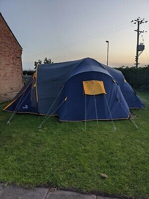 Easy Camp Ravenna XL 6-10 Man Tent Camping Outdoors RRP £499 • 149£