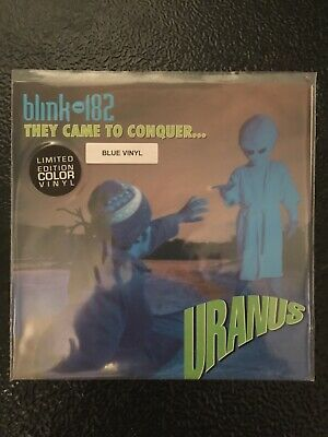 Blink 182 They Came To Conquer Uranus Ltd Blue Vinyl EP 7  • 12£