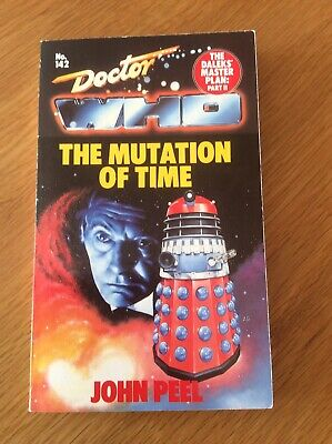 Doctor Who The Mutation Of Time Paperback No.142 John Peel Excellent Condition • 5.99£