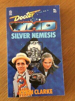 Doctor Who Silver Nemesis Paperback No 143 Kevin Clarke Very Good Condition • 4£