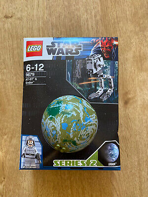 Retired LEGO STAR WARS 9679 AT-ST & Endor Planet  New/sealed, Free UK Delivery • 15£