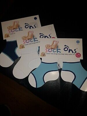Sock Ons Brand New 0-6 Months  • 2£