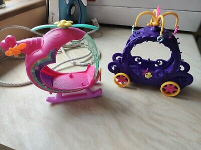 My Little Pony Helicopter And Carriage • 2.50£