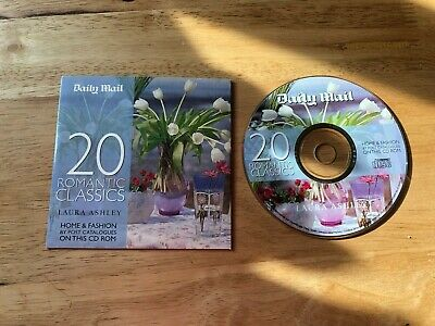 Daily Mail 20 Romantic Classic Promo CD 2002 Carbon Music Laura Ashley Bach • 0.99£