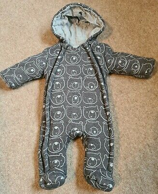 George Baby Pramsuit 0-3m *Excellent Condition* • 0.99£
