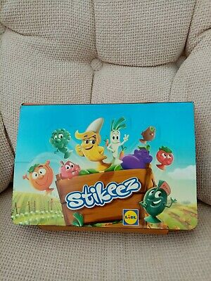 **L@@K STIKEEZ Lidl 2018 Vegetable Complete 24 Figures + Collector's Album BOX** • 17.99£