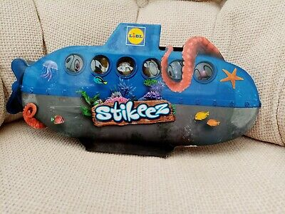 **L@@K STIKEEZ Lidl 2015 Submarine Complete 24 Figures + Collector's Album BOX** • 17.99£