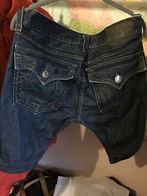 True Religion Jeans Shorts Bespoke (Paid £500 Harrods) • 50£