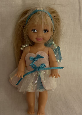 Shelly The Baby Swan Lake Barbie Sister   - Used 2003 • 5£
