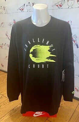 £79.99 • Buy Bnwt Nike Challenge Court Long Sleeve Tee Official Reissue Xxl Andre Agassi